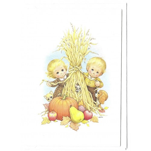 Notelette Antigo Importado Ruth Morehead Collection Thx