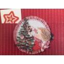 Postalete ANTIGO IMPORTADO COM SELINHO Betsey Clark Christmas Tree