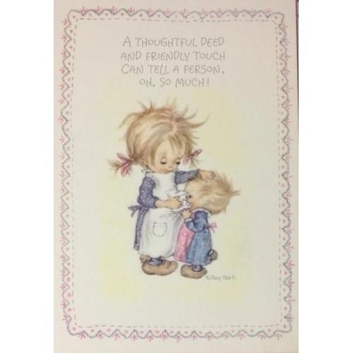 Cartão Postal ANTIGO Betsey Clark - G83
