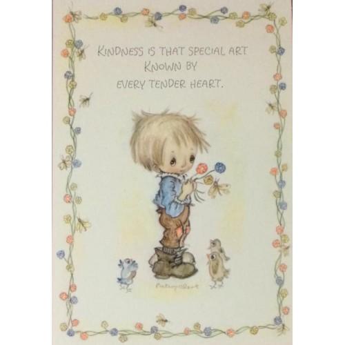 Cartão Postal ANTIGO Betsey Clark - G84