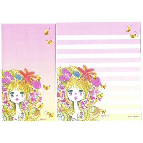 Conjunto de Papel de Carta com envelope ADO MIZUMORI 0065