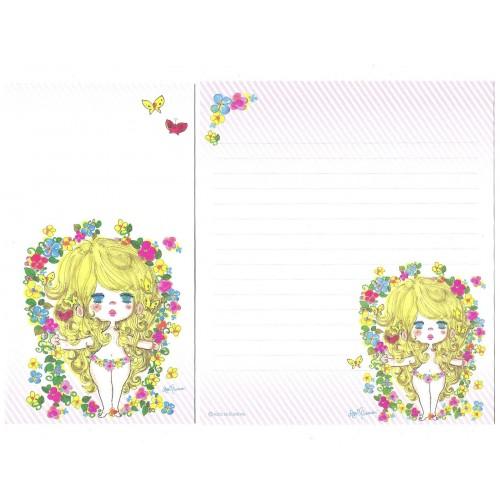 Conjunto de Papel de Carta com envelope ADO MIZUMORI 0066