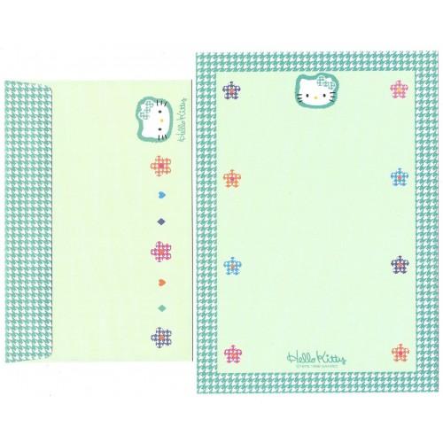 Ano 1996. Kit 4 Conjuntos de Papel de Carta Hello Kitty Perky Sanrio