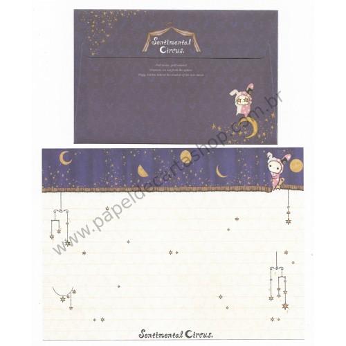Conjunto de Papel de Carta Sentimental Circus Mystic Moon3 San-X Japan