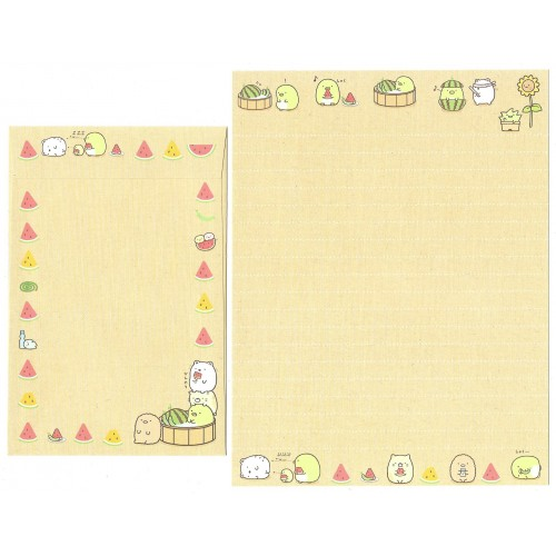 Conjunto de Papel de Carta Sumikko Gurashi 5 SAN-X