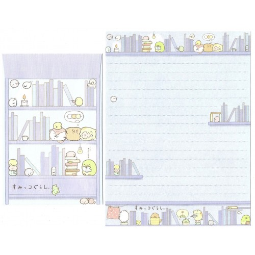 Conjunto de Papel de Carta Sumikko Gurashi 15 SAN-X