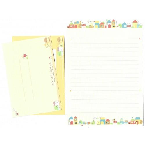 Conjunto de Papel de Carta Sumikko Gurashi 17 SAN-X