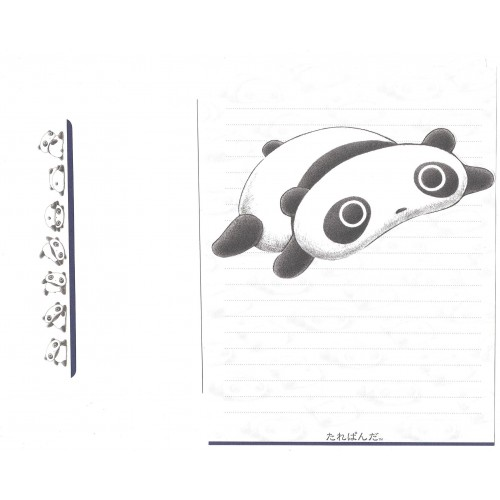 Conjunto de Papel de Carta Importado TAREPANDA NN - San-X