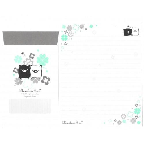 Kit 4 Conjuntos de Papel de Carta Monokuro Boo CVD SAN-X