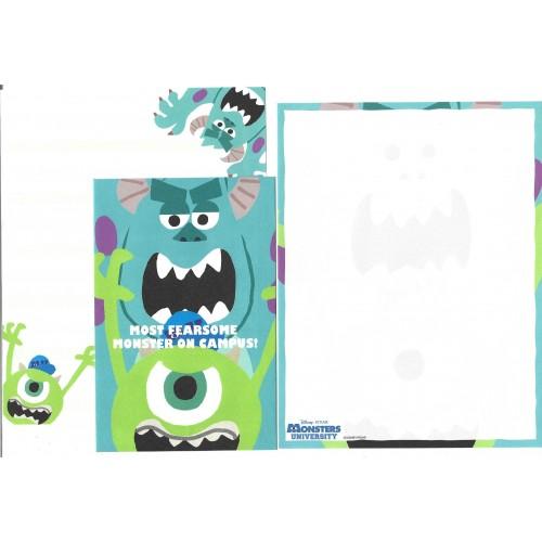 Kit 2 Conjuntos de Papéis de Carta Disney/Pixar Monsters University 5
