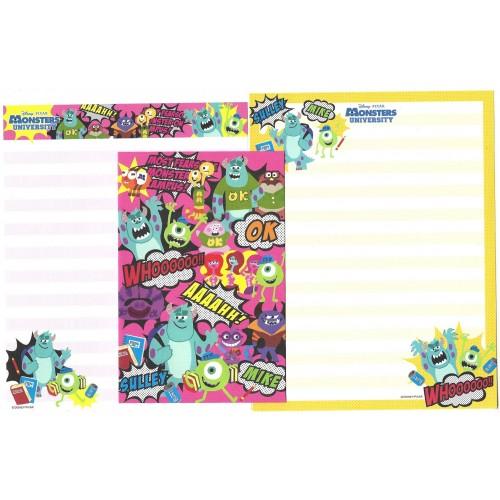 Kit 2 Conjuntos de Papéis de Carta Disney/Pixar Monsters University 7