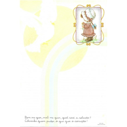 Papel de Carta Arco Iris 06