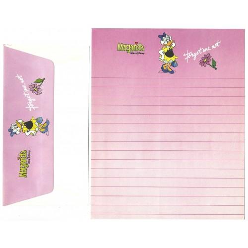 Conjunto de Papel de Carta VINTAGE Disney Daisy Duck
