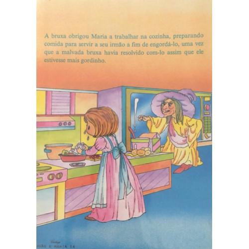 Papel de Carta CARTIUGE Personagens João e Maria 14