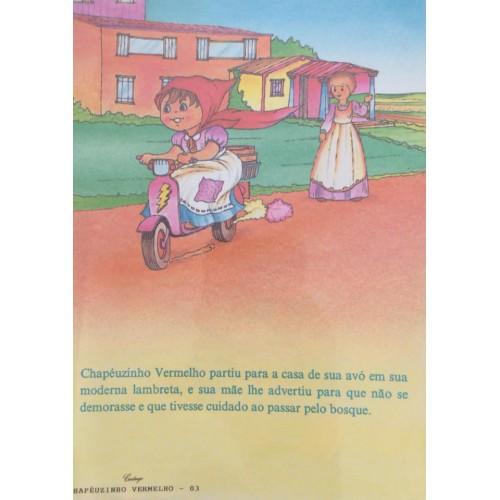 Papel de Carta CARTIUGE Personagens Chapeuzinho Vermelho 03
