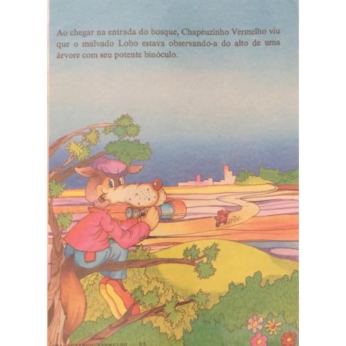 Papel de Carta CARTIUGE Personagens Chapeuzinho Vermelho 04