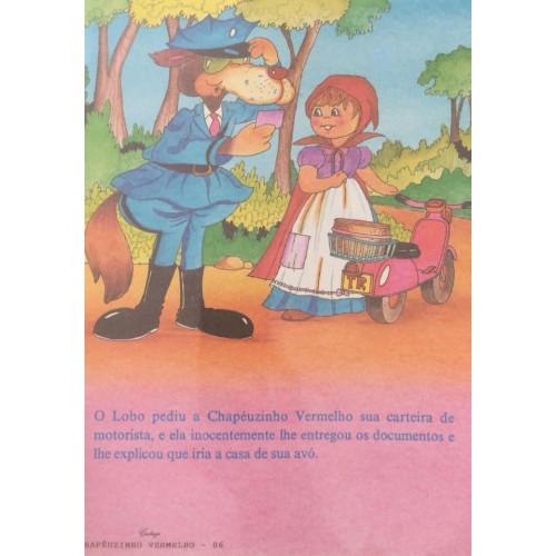 Papel de Carta CARTIUGE Personagens Chapeuzinho Vermelho 06