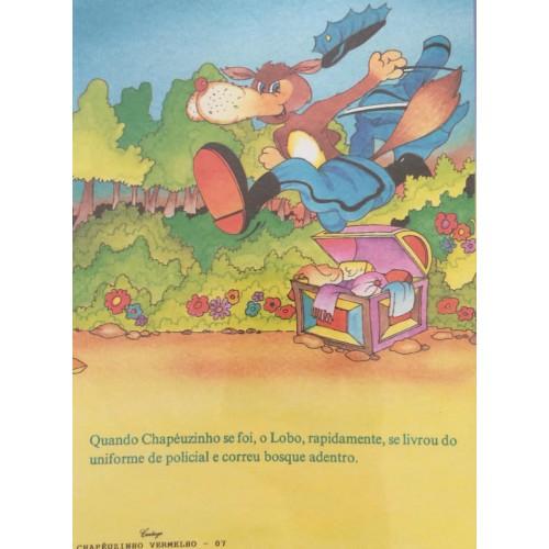 Papel de Carta CARTIUGE Personagens Chapeuzinho Vermelho 07