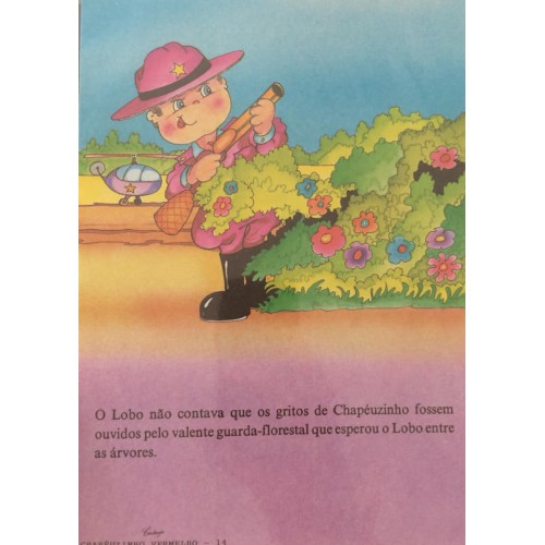 Papel de Carta CARTIUGE Personagens Chapeuzinho Vermelho 14