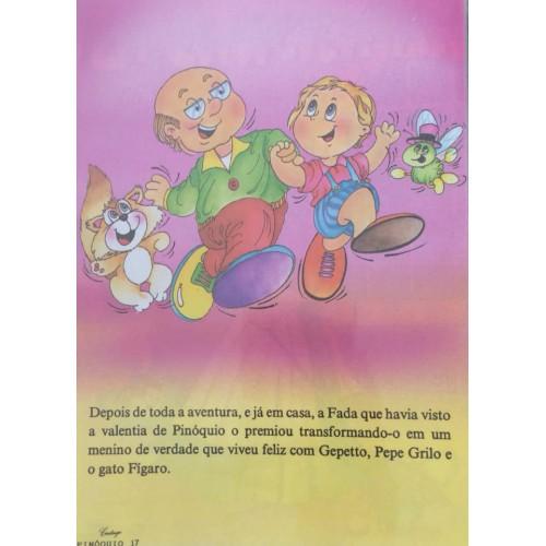 Papel de Carta CARTIUGE Personagens Pinóquio 17