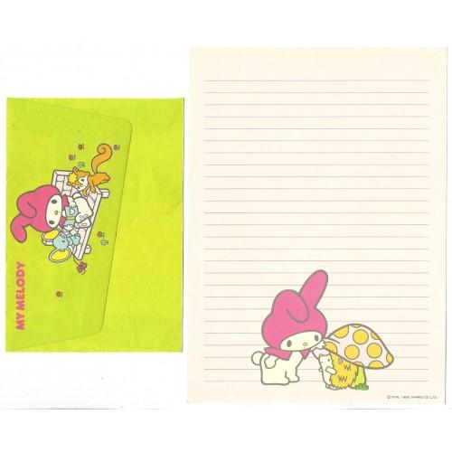 Ano 1985. Conjunto de Papel de Carta My Melody CVD Sanrio Argentina