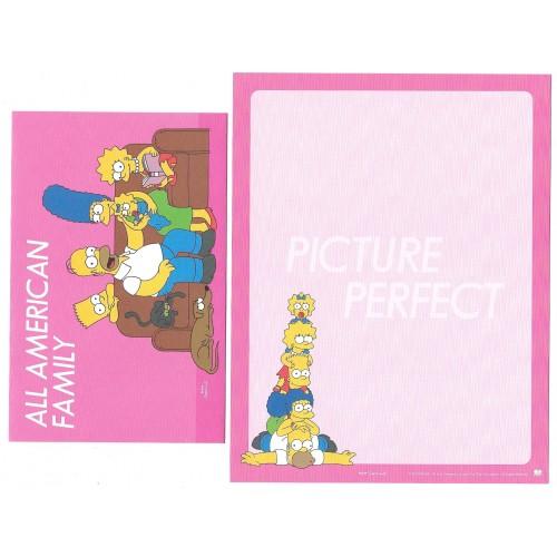Conjunto de Papel de Carta Importado Os Simpsons Bart CRS