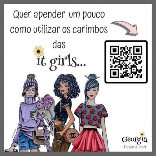 Carimbo It Girl Linha Planner - Louise - Lilipop Carimbos