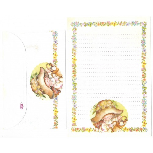 Conjunto de Papel de Carta ANTIGO Lisi Martin 7