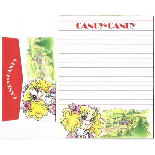 Conjunto de Papel de Carta CANDY CANDY Romantic Letter