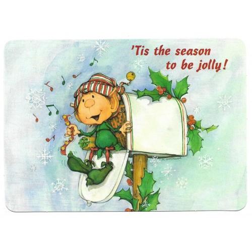 Postcard Antigo Importado Himself the Elf