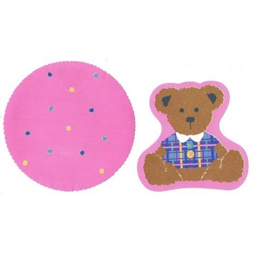 Ano 1992. Kit 2 Notas Bear Sanrio