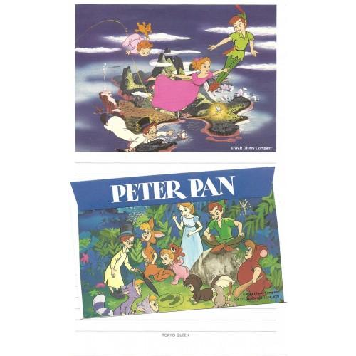 Conjunto de Papel de Carta Disney Peter Pan Tokyo Queen