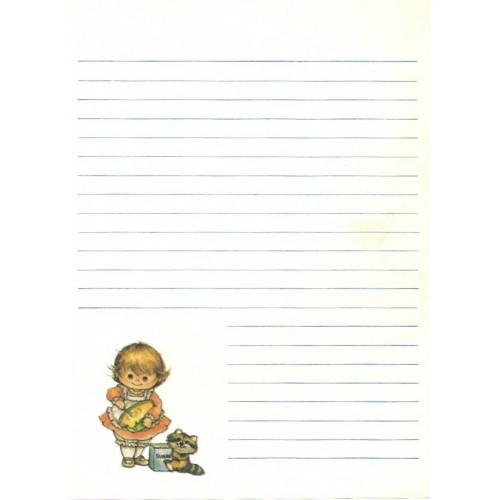 Papel de Carta AVULSO Menininhas 157 Morehead