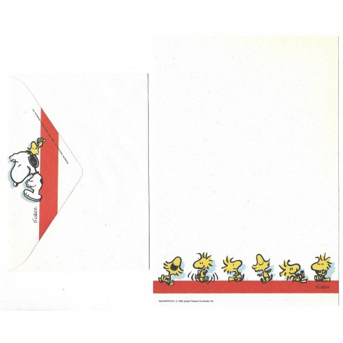 Conjunto de Papel de Carta ANTIGO SNOOPY P6