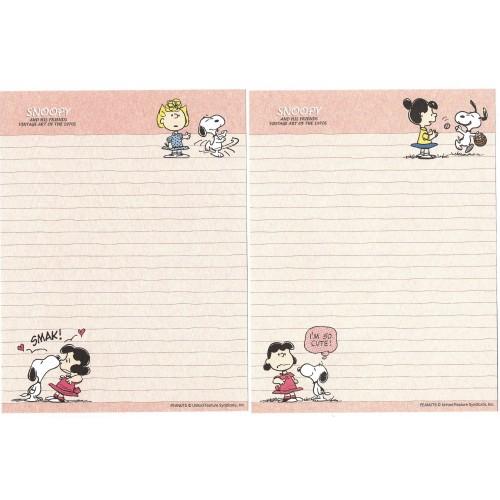 Conjunto de Papel de Carta Snoopy & Friends Art of 70's CRS Peanuts