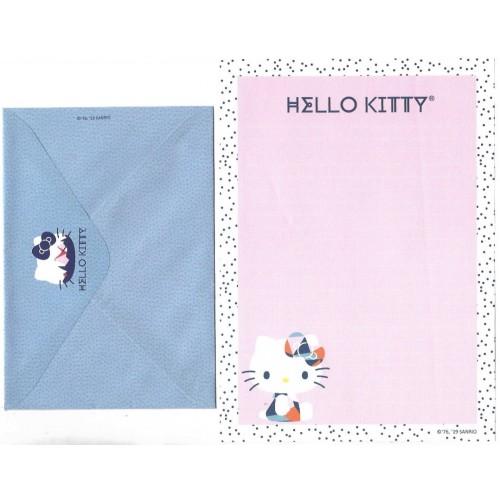 Ano 2019. Conjunto de Papel de Carta Hello Kitty Cute TECA Sanrio