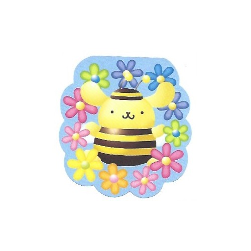 Ano 2002. Nota PomPomPurin Bee Sanrio