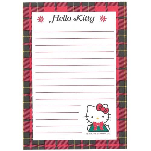 Ano 1996. Kit 3 Papéis de Carta Hello Kitty Antigo (Vintage) Sanrio
