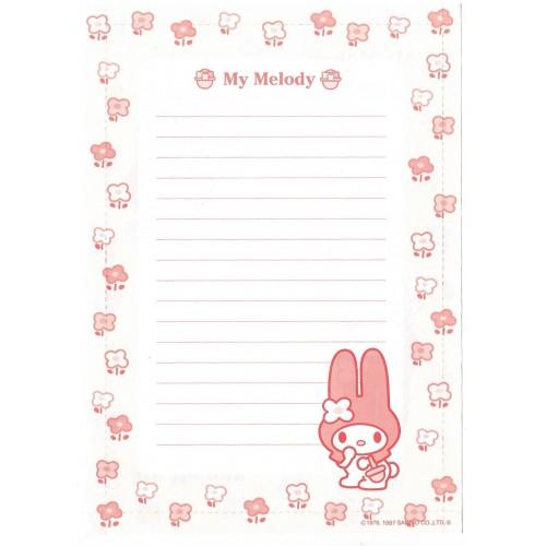 Ano 1997. Papel de Carta - Envelope My Melody CAM Antigo (Vintage) Sanrio