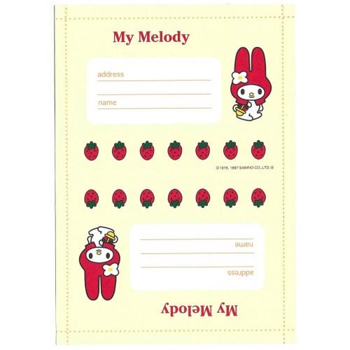 Ano 1997. Papel de Carta - Envelope My Melody CAM2 Antigo (Vintage) Sanrio