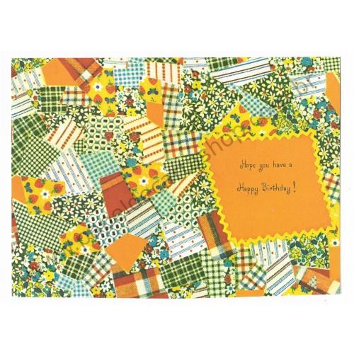 Notelette Antigo Importado Mary Hamilton Any Longer Patchwork