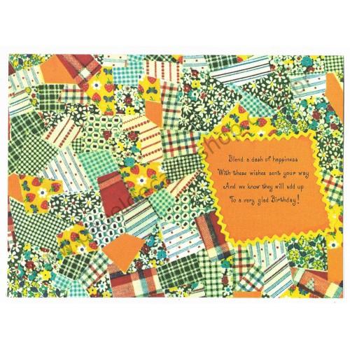 Notelette Antigo Importado Mary Hamilton Wedding Patchwork