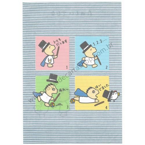Ano XXXX. Papel de Carta AVULSO Antigo (Vintage) Minna no Tabo Sanrio