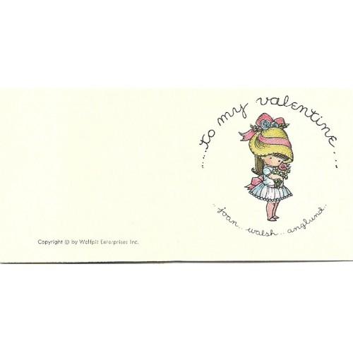 MICRO Notecard CBR Valentine Joan Walsh Anglund Hmk