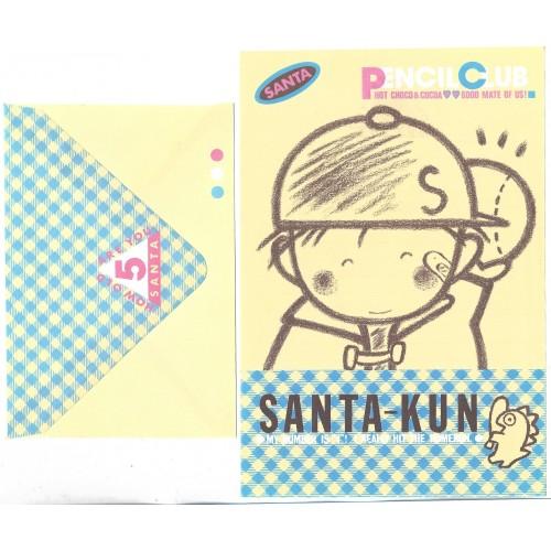 Conjunto de Papel de Carta Antigo (Vintage) Pencil Club 2 SAN-X