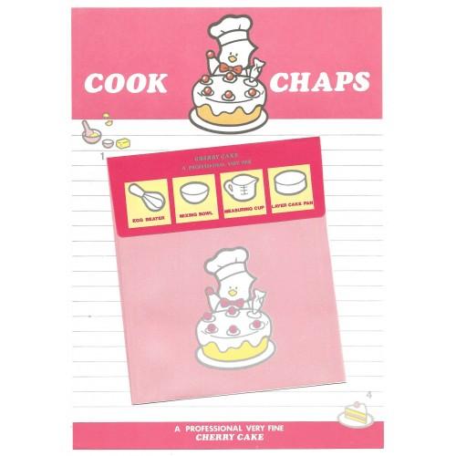 Conjunto de Papel de Carta Antigo (Vintage) Cook Chaps