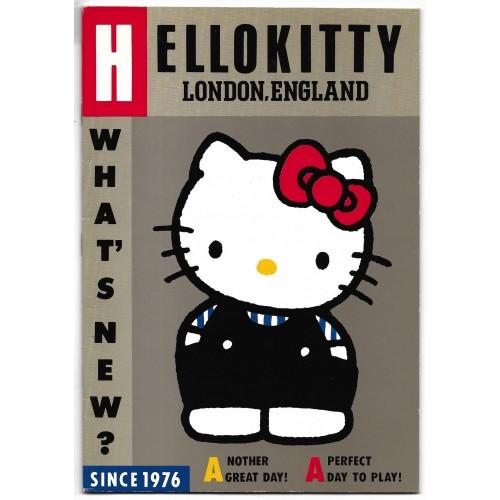 Caderno BROCHURA Hello Kitty England VINTAGE Sanrio