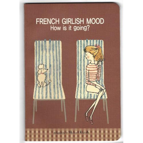 Caderno French Girlish Mood Coleção SHINZI KATOH