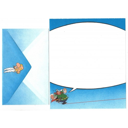 Conjunto de Papel de Carta ANTIGO Asterix & Obelix CAZ Hmk