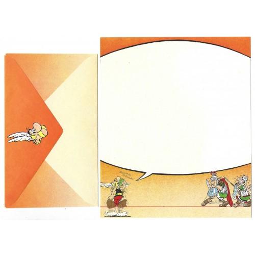 Conjunto de Papel de Carta ANTIGO Asterix & Obelix CLA Hmk